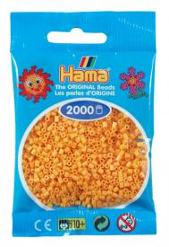 Hama beads MINI 2000 pezzi Giallo ocra n.60