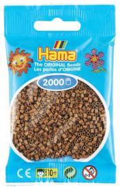 Hama beads MINI 2000 pezzi Marrone cioccolato n.76