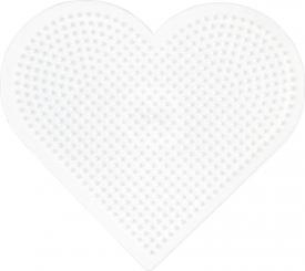 Tavoletta cuore  MINI Hama beads