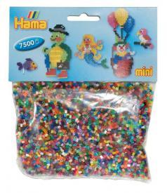 7500 pezzi di perline in in 48 colori brillanti