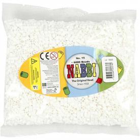 Nabbi beads 6000 p. - colore bianco 15