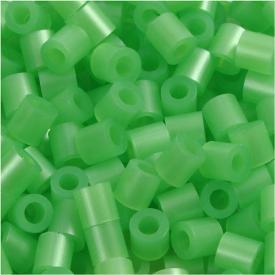 Ricarica perline 1100 pezzi Verde perlato n.22 pyssla verde