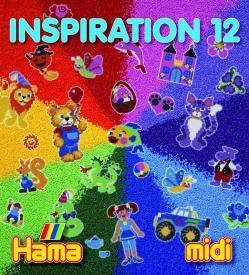 Libretto ispirazioni 12 Midi Hama Beads