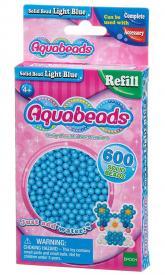 Ricarica Aquabeads - 600 Perline circolari Celesti
