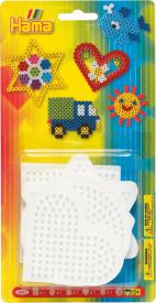 Hama beads Base per perline - 4 basi piccole