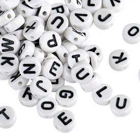 perline lettere alfabeto