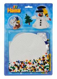 hama beads pupazzo di neve