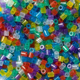Hama Beads midi 1000 pezzi - glitter
