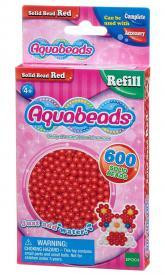 Ricarica Aquabeads - 600 Perline circolari Rosse