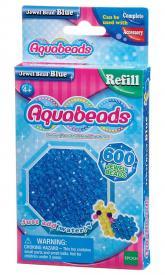 Ricarica Aquabeads - 600 Perline sfaccettate Blu