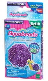 Ricarica Aquabeads - 600 Perline sfaccettate Viola