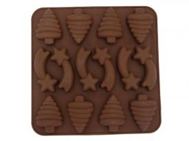 Stampo in silicone - Choco christmas decor