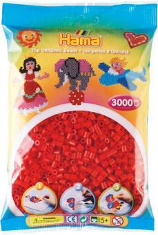 Hama Beads Midi 3000 pezzi Rosso n.5