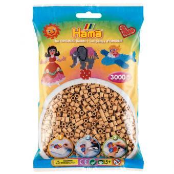 Hama Beads Pyssla Midi 3000 pezzi - Marrone Nocciola n.75