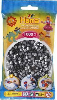 Hama Beads midi 1000 pezzi - Argento n.62