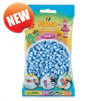 Hama beads Pyssla 207-97 colore nuovo celeste azzurro