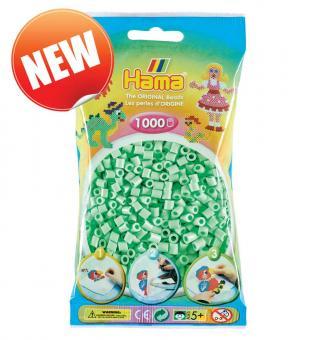 Hama beads Pyssla 207-98 colore nuovo verde menta