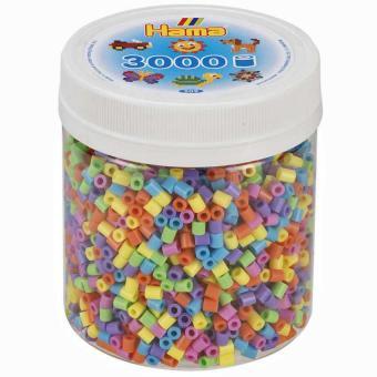 Hama Beads Pyssla Midi pastello