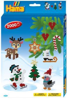 Addobbi di Natale Hama beads pyssla Midi