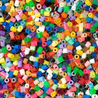 Cestello Hama Beads Midi 10000 pezzi - 50 colori