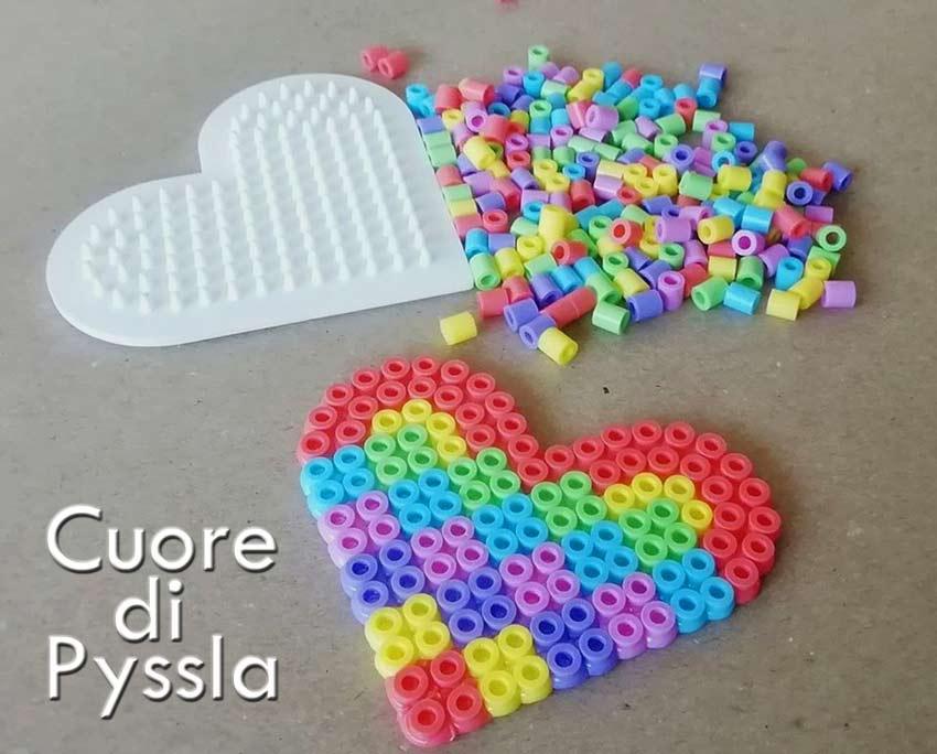 Il simbolo dell'amore: il cuore di Pyssla