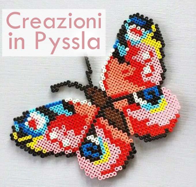 La farfalla nel mondo dei Pyssla