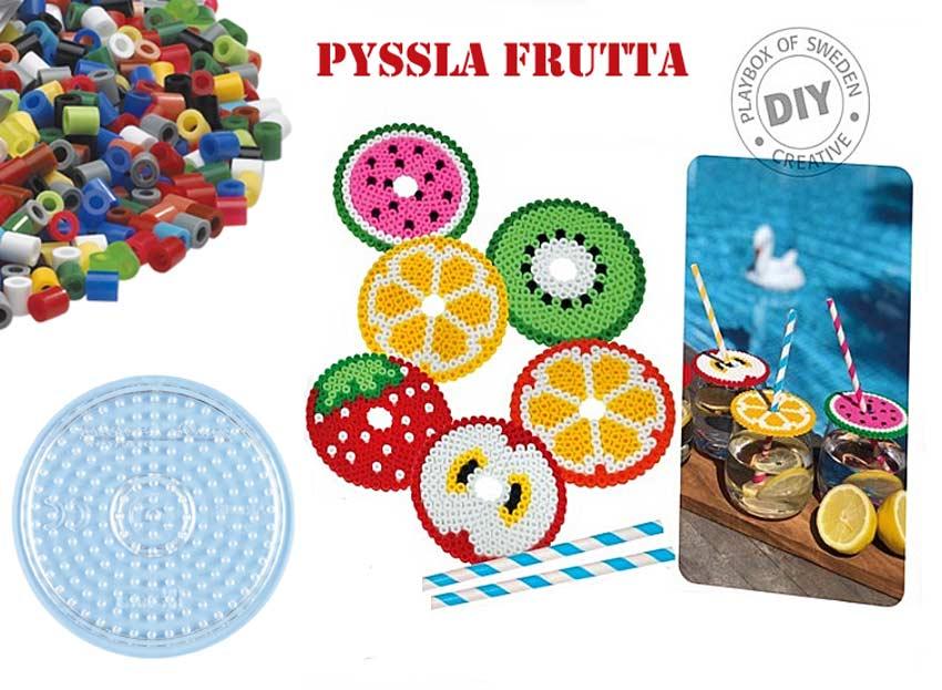 Mangiare sano fa bene: ecco tanta frutta Pyssla