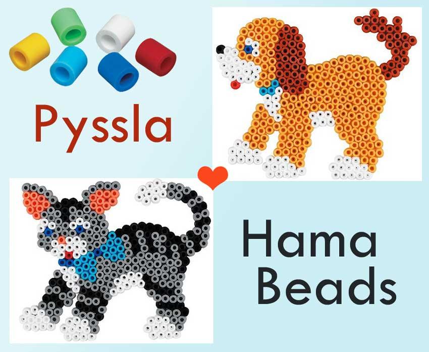 Il mondo dei nostri amici animali a 4 zampe di Pyssla