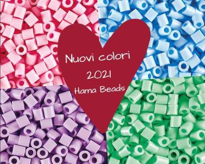 Scopri i nuovi colori Hama Beads 2021