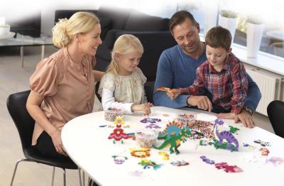 Scuole chiuse?  Passiamo il tempo con i nostri bambini e con i Pyssla!