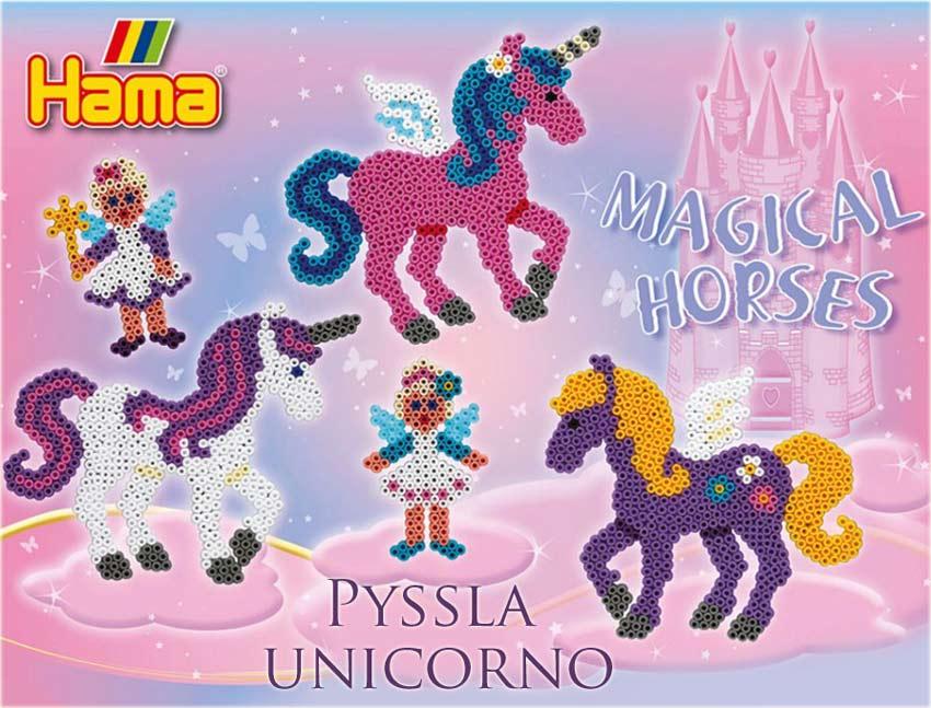 Il magico Unicorno con Pyssla