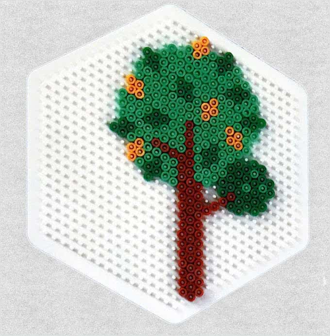 albero hama beads