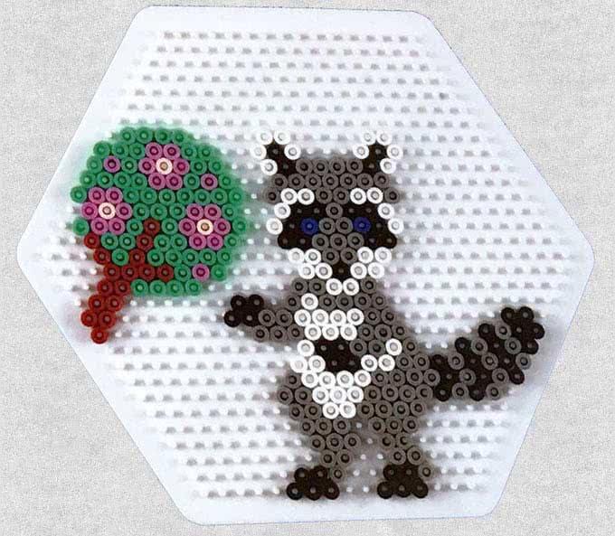 foresta hama beads