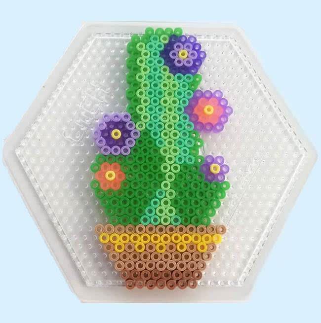 cactus con Pyssla