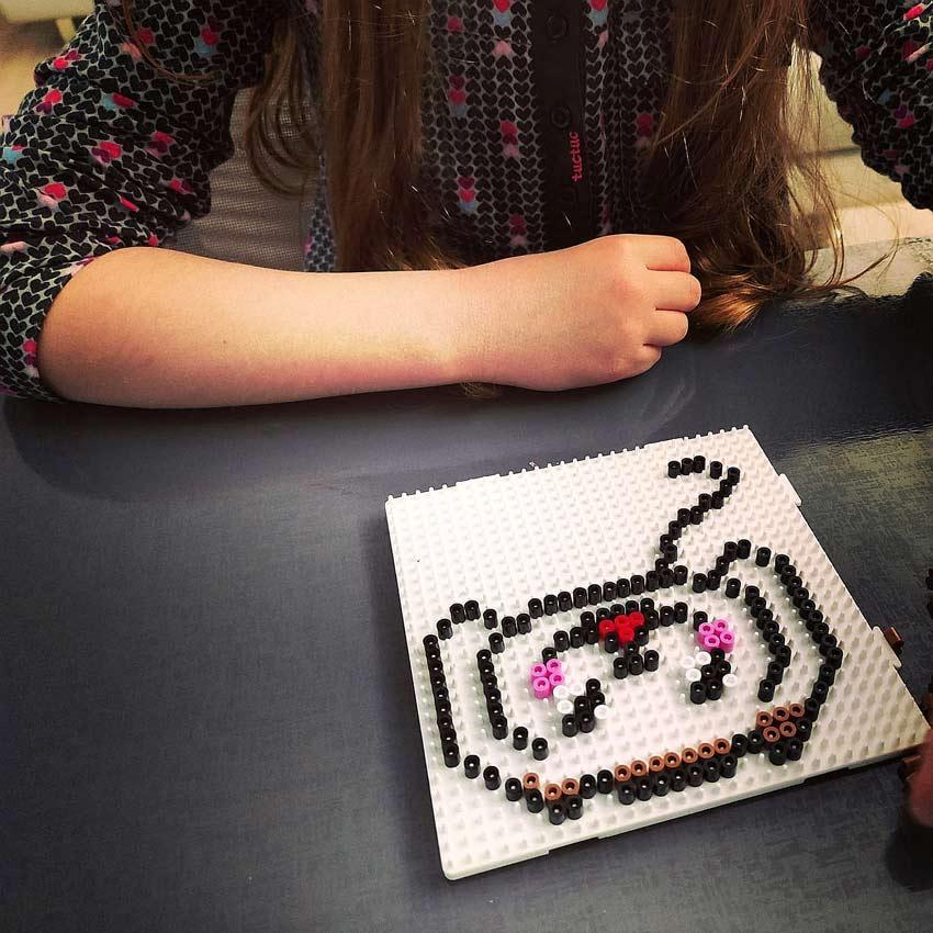 cane hama beads