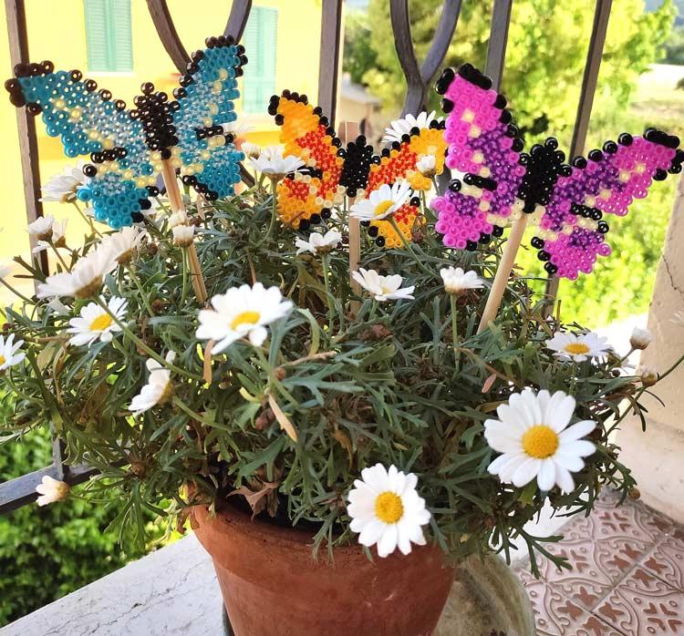 farfalla pyssla creazioni