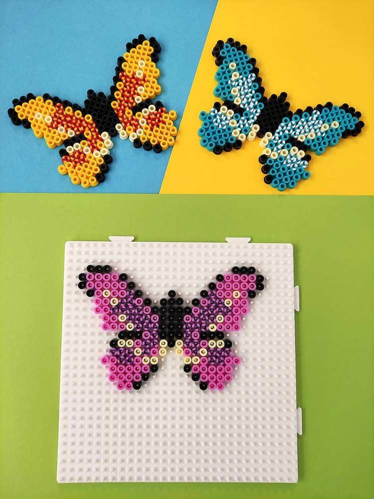 farfalla hama beads