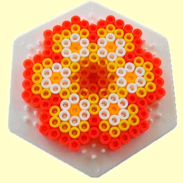 fiore 3D hamabeads