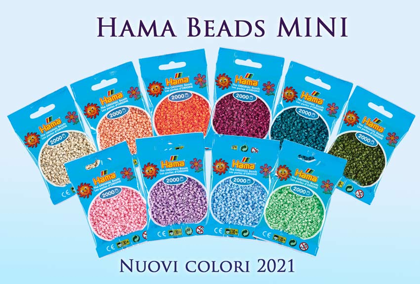 Nuovi colori Hama beads mini 2021