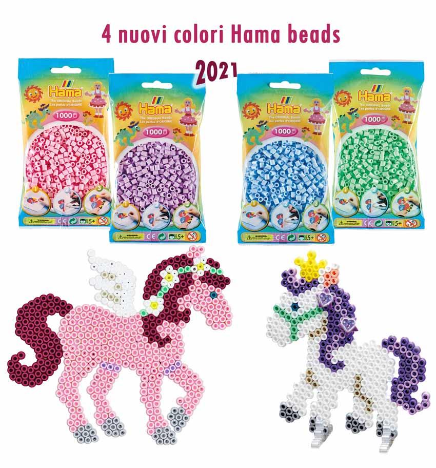 Nuovi colori Hama beads 2021