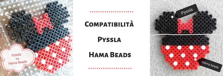 Compatibilità tra le Pyssla e le Hama Beads
