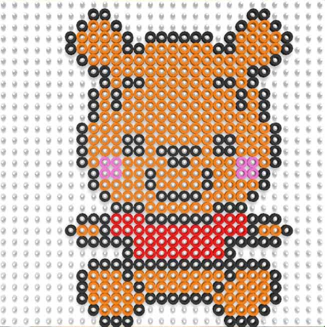 winnie the pooh pyssla